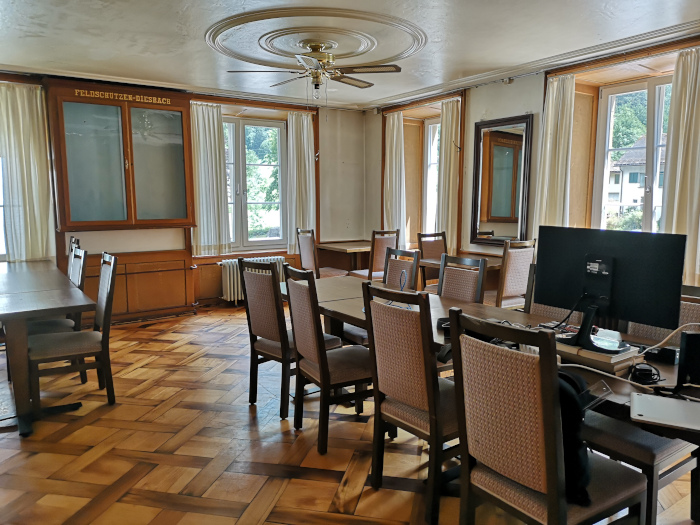 Lecture Hall in Hotel Diesbach